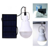 Bewegliche 5V 1.2W 150lm Lampen-im Freienbeleuchtung-Lager-Zelt-Fischen-Licht der Sonnenenergie-LED