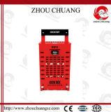 강철 안전 Dual-Function 안전 통제 자물쇠 고정되는 상자