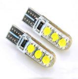 Ricambi auto 12V LED Canbus chiaro T10 5050 dell'automobile indicatore luminoso di cristallo della lampadina dell'automobile di 6 SMD per le automobili