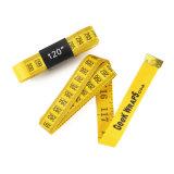 黄色いロゴデザイン120inch 3m布の測定テープ