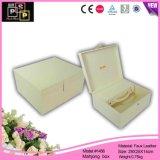 Белая Locked оптовая продажа коробки Mahjong кожи логоса Customed ручки (1456)