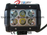 18W CREE 1800lm Flood Spot Beam IP68 LED Light Bar voor Offroad Vehicles (RT-B318)