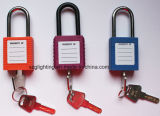 Industrielles Safety Lackout Padlock in White Color
