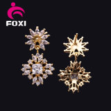 宝石類のベストセラーのドバイの金の花のイヤリング