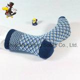 Chaussettes de coton de Madame Fashion Classic Diamond Pattern très populaires sur le marché