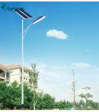 Lâmpada de rua separada 40W solar da luz de rua do diodo emissor de luz do lúmen IP65 elevado