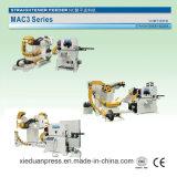 MAC3 السلسلة 3 في 1 مضاعفات مستقيم المغذية للطاقة آلة الصحافة