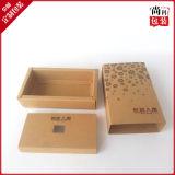 Роскошная коробка пакета бутылки вина типа шкафа картона, оптовые коробки вина картона, упаковывая