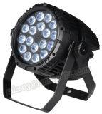 Indicatore luminoso di alluminio impermeabile di PARITÀ dei 18 LED