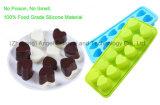 moulage de crême glacée des silicones 12-Cavity également pour le gâteau, le pudding, la lucette et le chocolat Si21