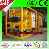 Machine de filtration de pétrole de transformateur de vide d'étapes de Zyd de série double
