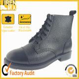 Военная полиция лодыжки Outsole фронта патента Styleshining парада большая кожаный Boot