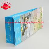 De vierkante Zak van de Verpakking van het Voedsel van de Douane van de Bodem Plastic met Chinese Datum