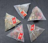 Máquina de empacotamento de nylon do saco de chá da pirâmide/triângulo
