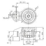 Solenoid Valve Coil, DC12V, 24V, AC110V, 220V, 50Hz/60Hz