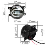Nebel-Lampe mit DRL Tagespositionslampe 9005 Hb3 9006 Hb4 H11 H10 3.5 Inch  Nebel-Licht Ford-Mondeo