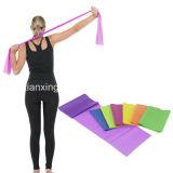 Faixa do exercício da aptidão do corpo da faixa do estiramento da ioga da faixa da resistência da ginástica