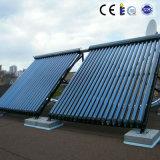 Coletor solar seguro de câmara de ar de vácuo do projeto de água quente
