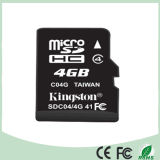 100% 전용량 (SD-04)를 가진 이동할 수 있는 메모리 카드 4GB TF 카드