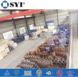 Het schilderen ASTM A53 Roestvrij staal 316 van 6 Duim de Gelaste Productie van de Elleboog van het T-stuk van de Montage van de Pijp
