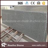 G603 Bellaの床または壁のタイルのための白い薄い灰色の花こう岩の平板