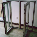 Guichet en aluminium Kz060 de tissu pour rideaux de profil de traitement extérieur d'électrophorèse