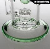 Glass Water Smoking Pipe Toro Glass para Jet Perc Borosilicate Oil Rig Hookah