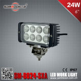 6 Inch 24W Square LED Car Work Driving Light (SM-6024-SXA)