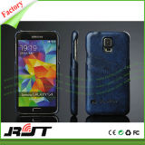 Geval van de Telefoon van het Leer van de luxe Pu het Mobiele voor de Melkweg van Samsung S6