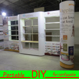 Cabine juste d'exposition de cabine en aluminium portative de bâti de DIY