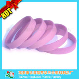Wristband feito sob encomenda do silicone do festival do bracelete do silicone do Natal (TH-band006)