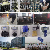 Vávula de bola eléctrica de la alta calidad UPVC para el tratamiento de aguas