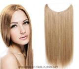 Nuova di modo delle donne trama sintetica giallo chiaro dei capelli lungamente diritto
