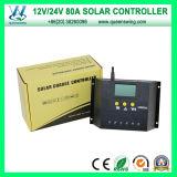 Venda LCD Hot 12V / 24V Auto 60A Controlador de Carga Solar