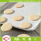 rodillo sin blanquear impermeable a la grasa del papel de la hornada del silicón de los 30cmx5m para el uso del horno