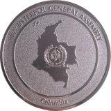 Рельефный блестящий металл монет Налет