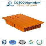 Het aluminium schaaft Vin Heatsink voor Elektronische Apparaten met ISO9001 af: 2008 Gediplomeerd