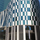 Aluminium iperbolico Cladding Panels per Curtain Wall