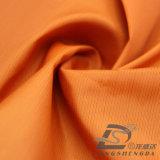 Agua y de la ropa de deportes tela rayada tejida chaqueta al aire libre Viento-Resistente 100% del poliester del filamento del telar jacquar abajo (53130)