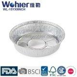 Контейнер алюминиевой фольги устранимого хлебца качества еды устранимый для кухни