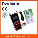 Цели испытательного оборудования оптического волокна Techwin Tw3212e новые Handheld на применении и обслуживании FTTX