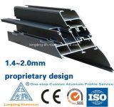 Madera Aluminio Perfil para Windows y Puertas / Madera, Carpintería de Aluminio