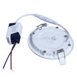 Lampada sottile ultrasottile di 6W LED giù messa intorno all'indicatore luminoso di comitati di prezzi LED di illuminazione di soffitto del LED