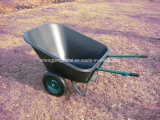 Fatto in Cina Wheel Barrow con Plastic Tray