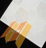 De witte Vinyl Omvatte Raad van het Plafond van het Gips