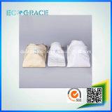 Аттестованный SGS Non-Woven фильтр мешка воздуха/пыли ткани стеклоткани