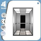 Ascenseur de passager de Vvvf de cabine d'acier inoxydable