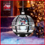 Diodo emissor de luz preto Lights Hanging Lamp de Classic Snow Flakes para Decoration