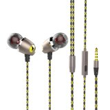 Magneticの方法Design High Performance Handsfree Stereo Metal Earphone