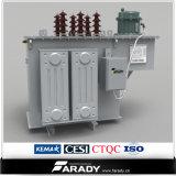 Regulador de tensão automática imergido petróleo de 3 fases